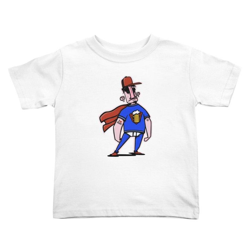 superbeer Kids Toddler T-Shirt by manuvila