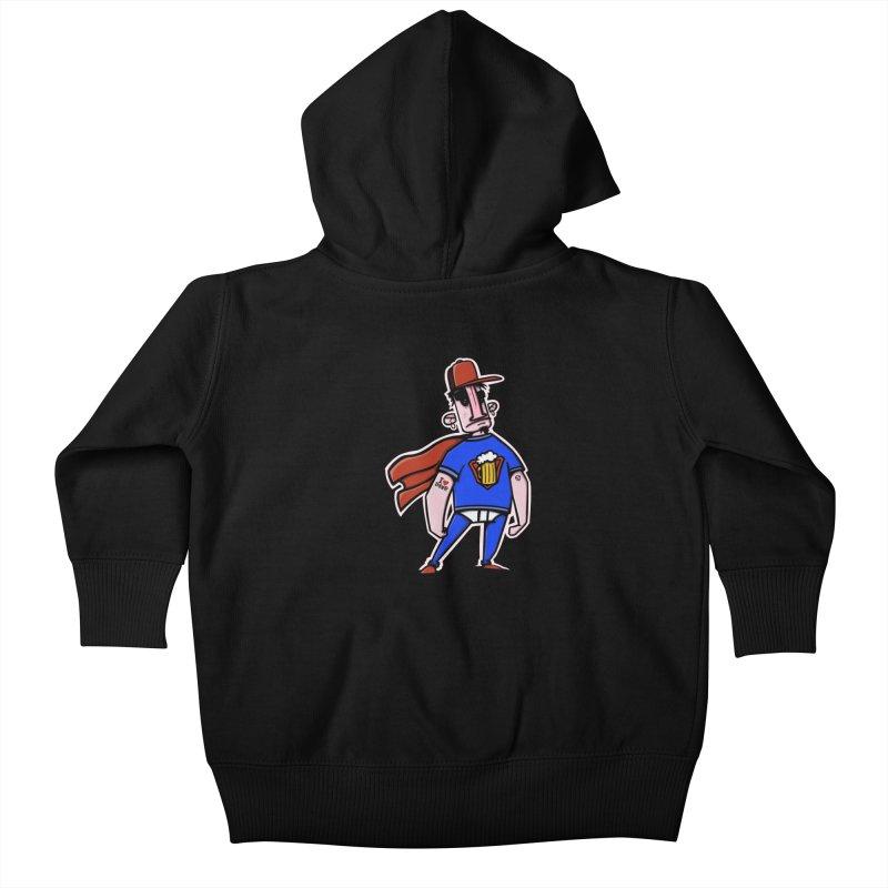 superbeer Kids Baby Zip-Up Hoody by manuvila
