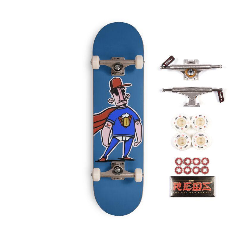 superbeer Accessories Complete - Pro Skateboard by manuvila