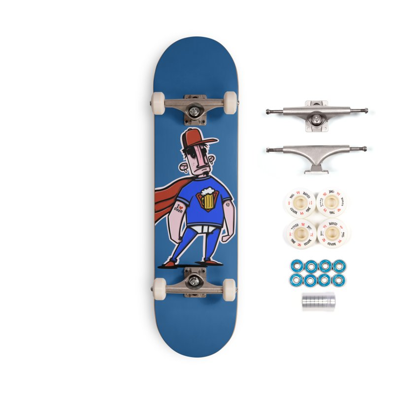 superbeer Accessories Complete - Premium Skateboard by manuvila