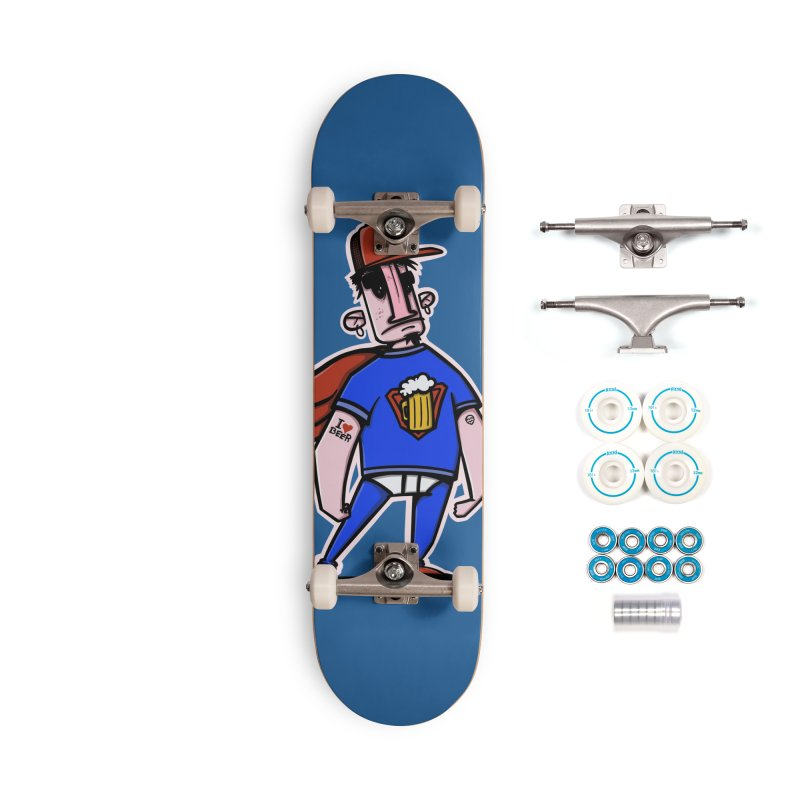 superbeer Accessories Complete - Basic Skateboard by manuvila