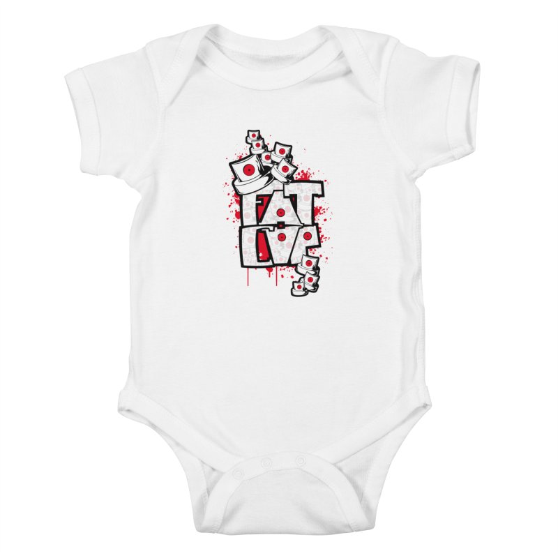 Fat cap Kids Baby Bodysuit by manuvila