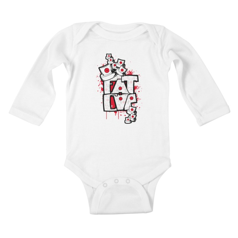 Fat cap Kids Baby Longsleeve Bodysuit by manuvila