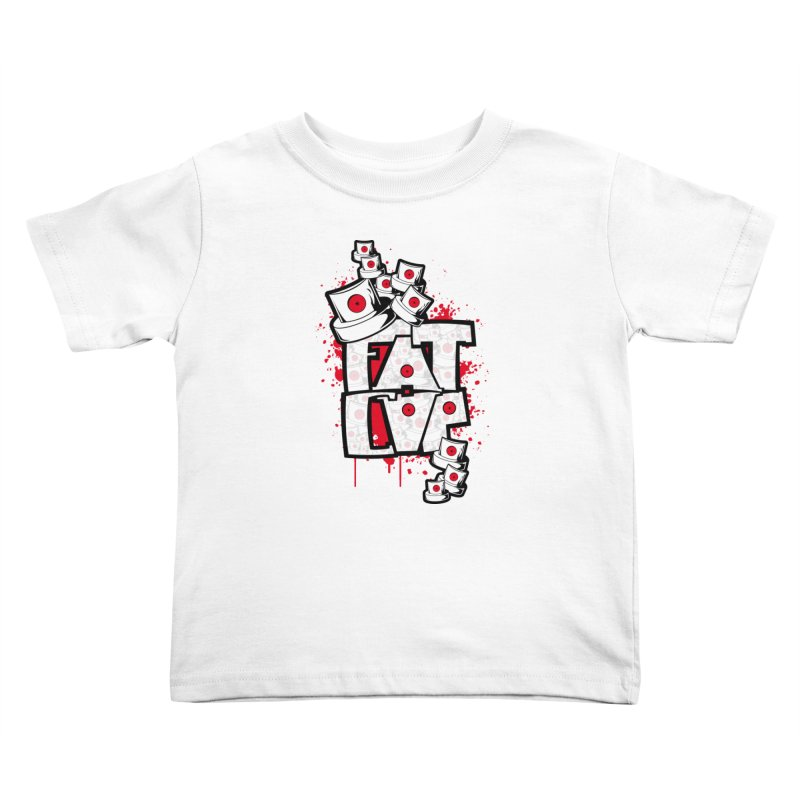 Fat cap Kids Toddler T-Shirt by manuvila