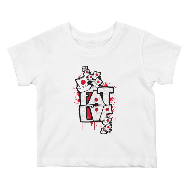 Fat cap Kids Baby T-Shirt by manuvila