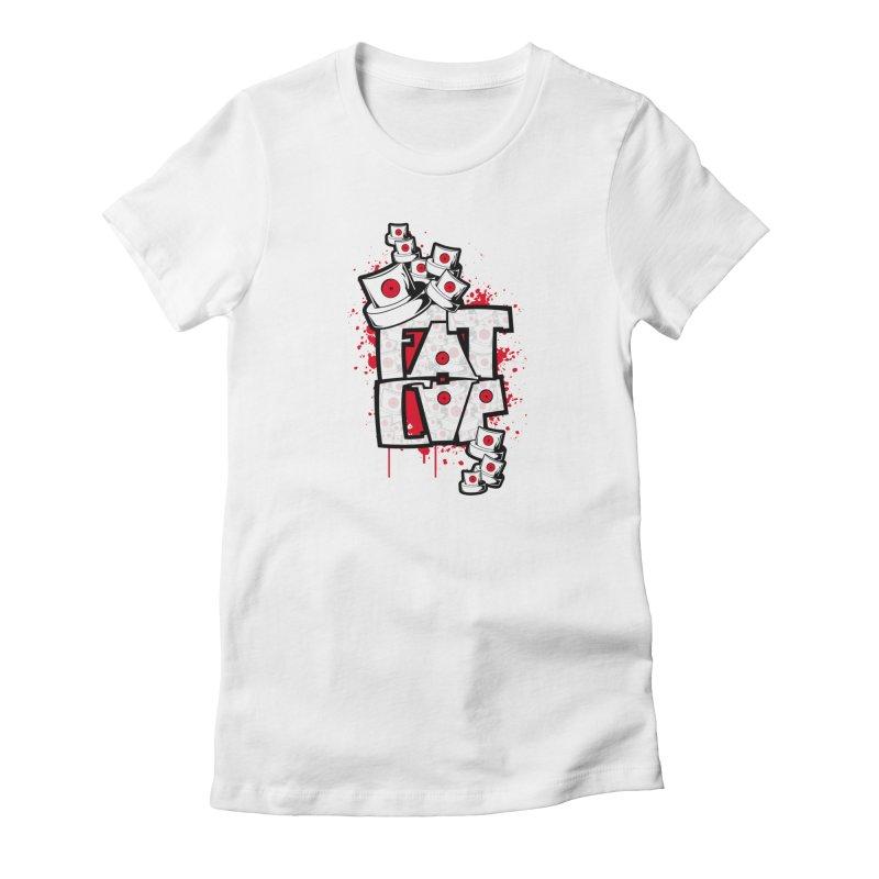 Fat cap Women's T-Shirt by manuvila