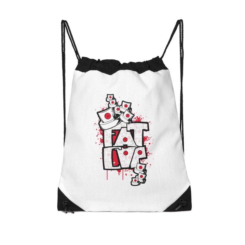 Fat cap Accessories Drawstring Bag Bag by manuvila