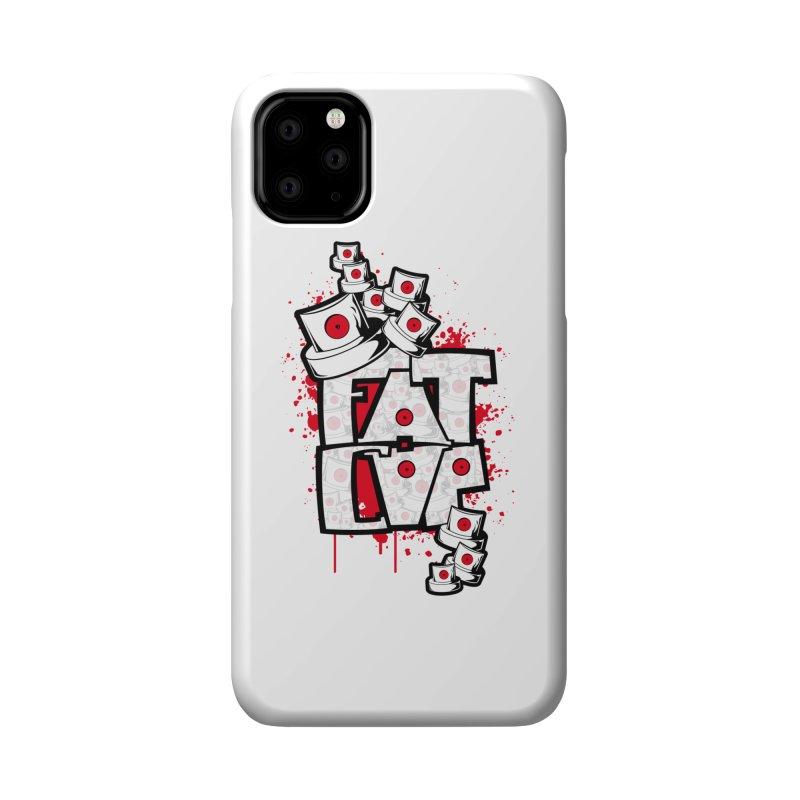 Fat cap Accessories Phone Case by manuvila