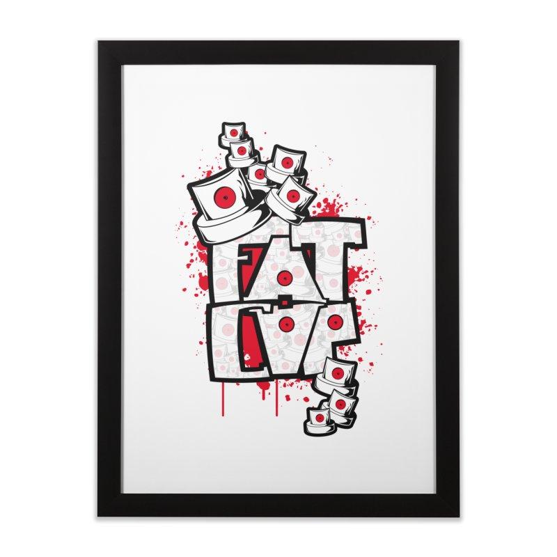 Fat cap Home Framed Fine Art Print by manuvila