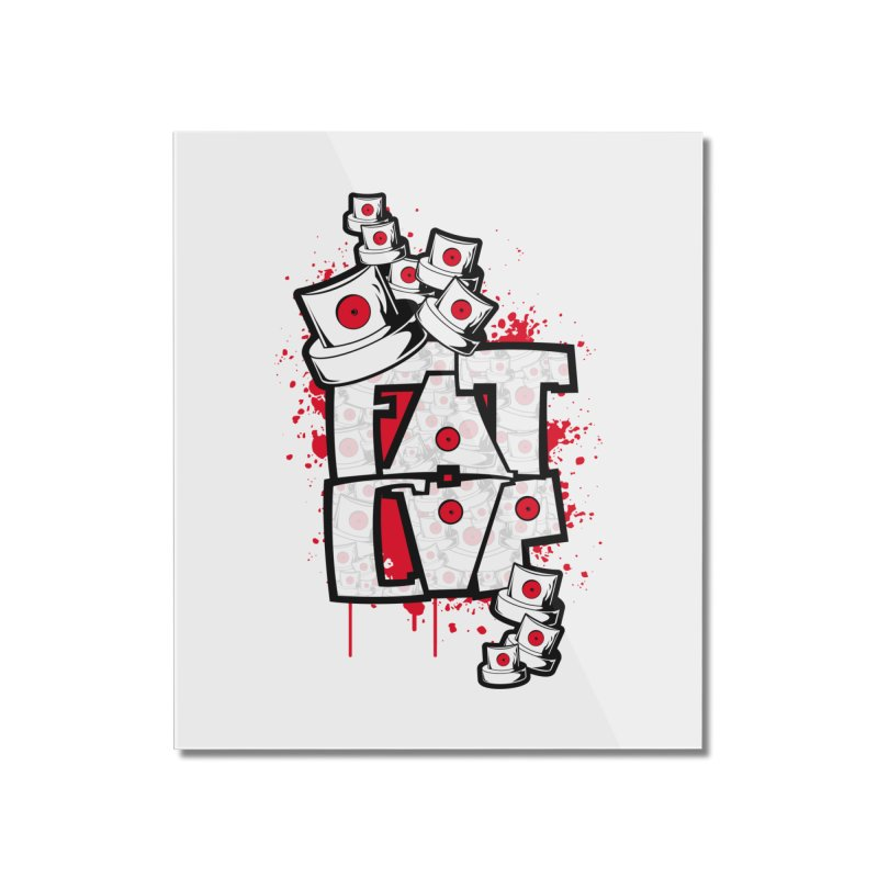 Fat cap Home Mounted Acrylic Print by manuvila