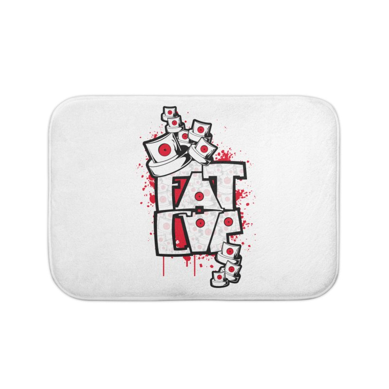 Fat cap Home Bath Mat by manuvila