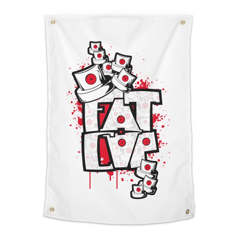 Fat cap Home Tapestry by manuvila