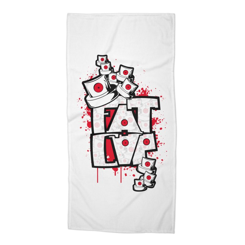Fat cap Accessories Beach Towel by manuvila