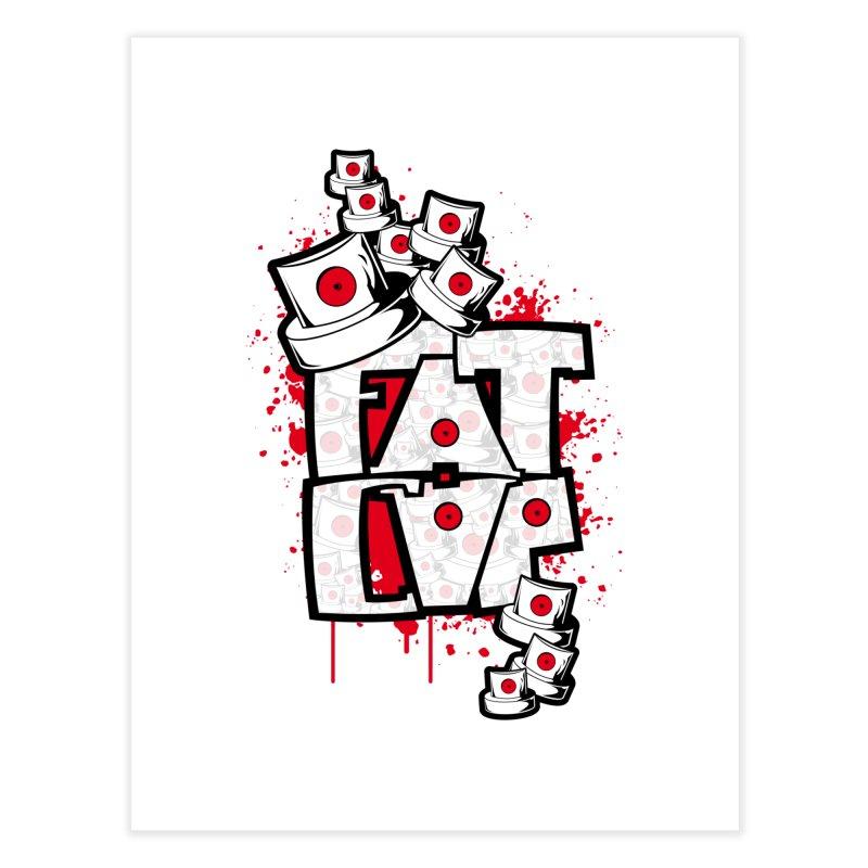Fat cap Home Fine Art Print by manuvila