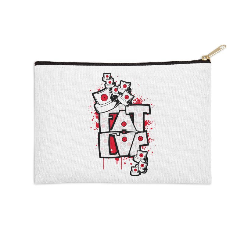 Fat cap Accessories Zip Pouch by manuvila