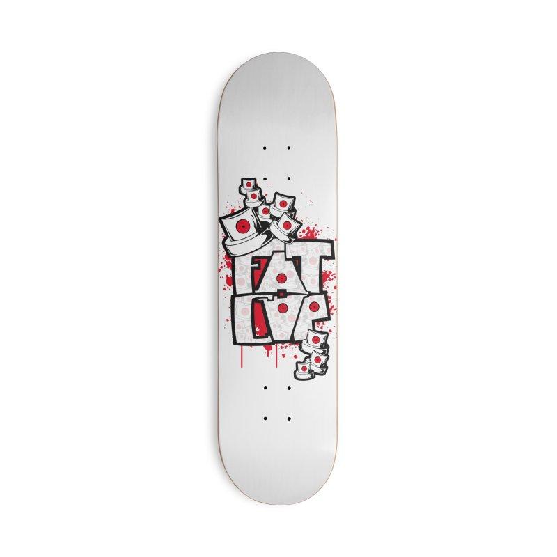 Fat cap Accessories Skateboard by manuvila