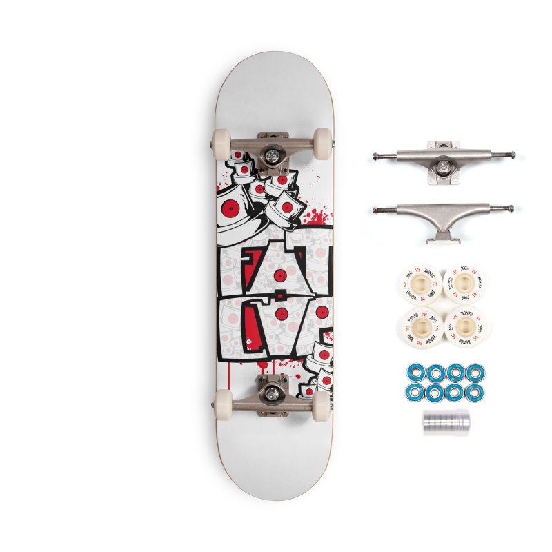 Fat cap Accessories Complete - Premium Skateboard by manuvila