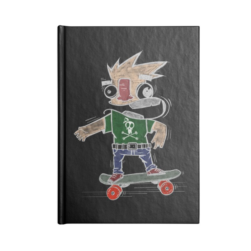 Skateman Accessories Lined Journal Notebook by manuvila