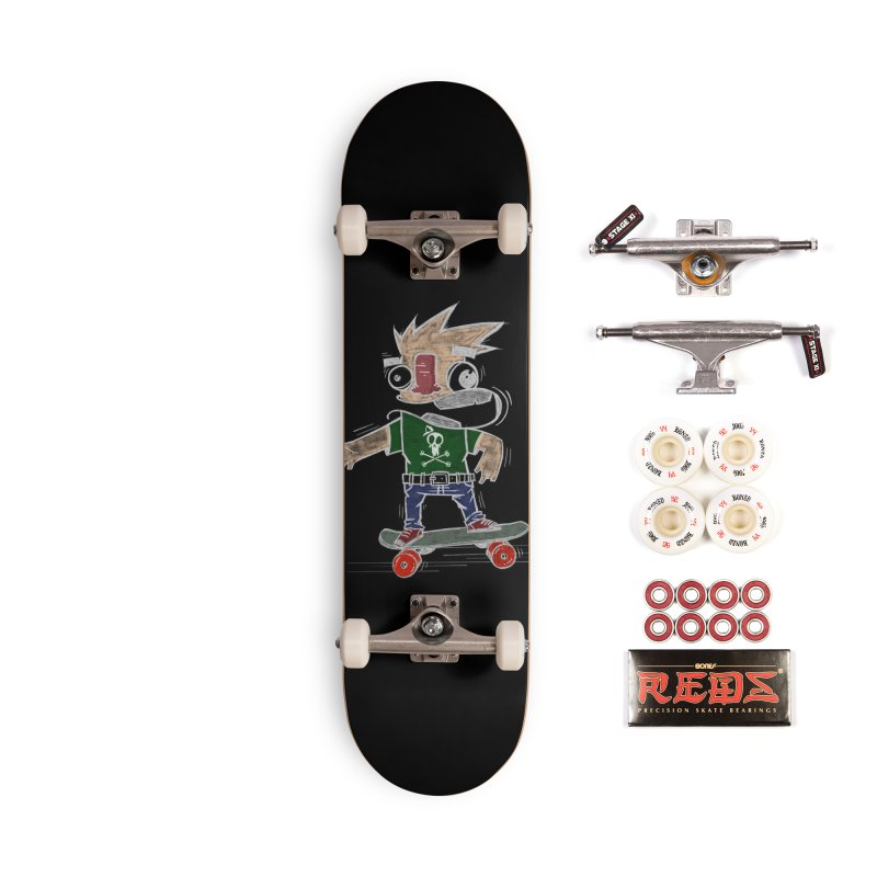 Skateman Accessories Complete - Pro Skateboard by manuvila