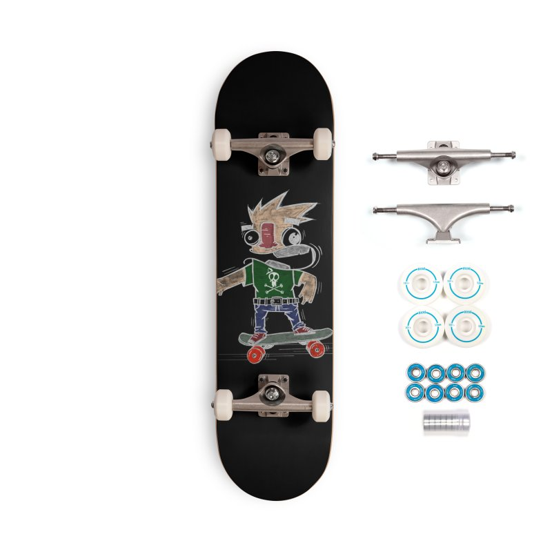 Skateman Accessories Complete - Basic Skateboard by manuvila