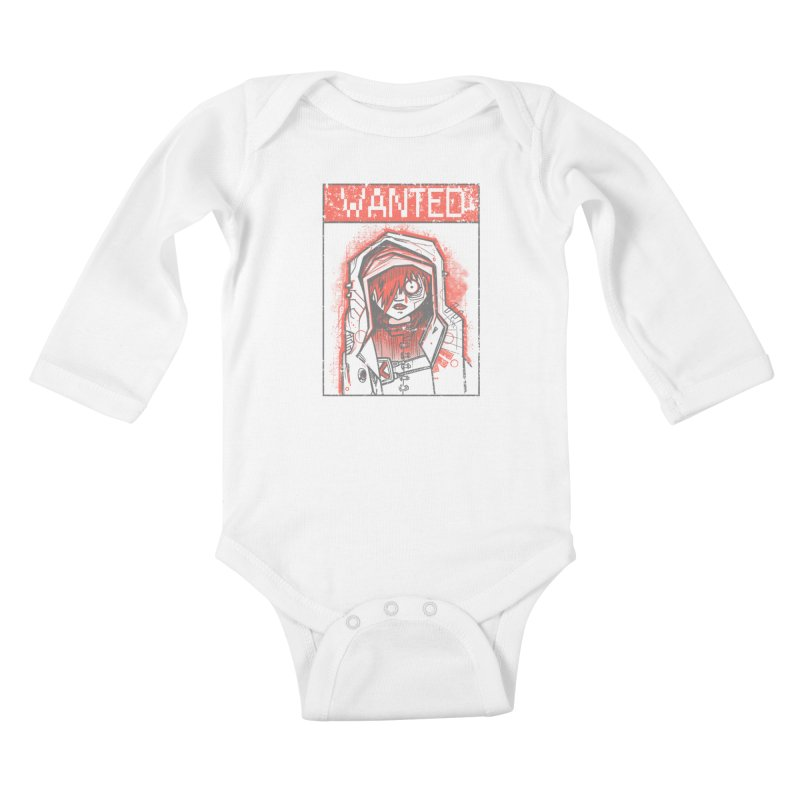 bad girl Kids Baby Longsleeve Bodysuit by manuvila