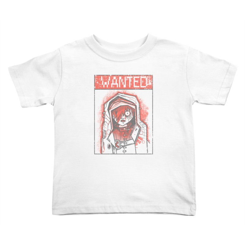 bad girl Kids Toddler T-Shirt by manuvila