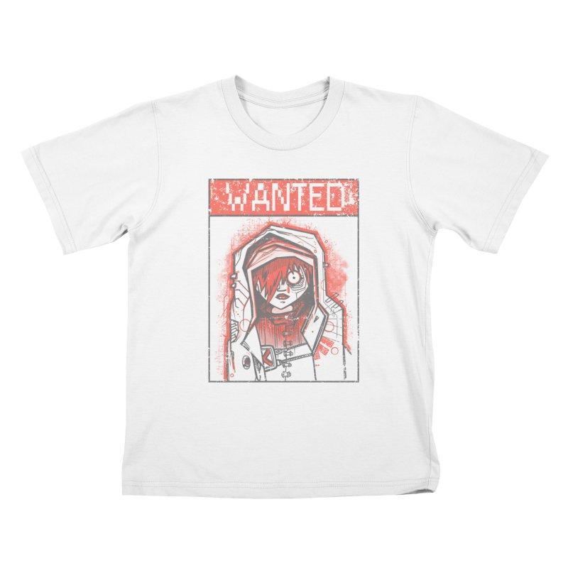 bad girl Kids T-Shirt by manuvila