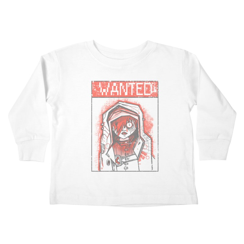 bad girl Kids Toddler Longsleeve T-Shirt by manuvila