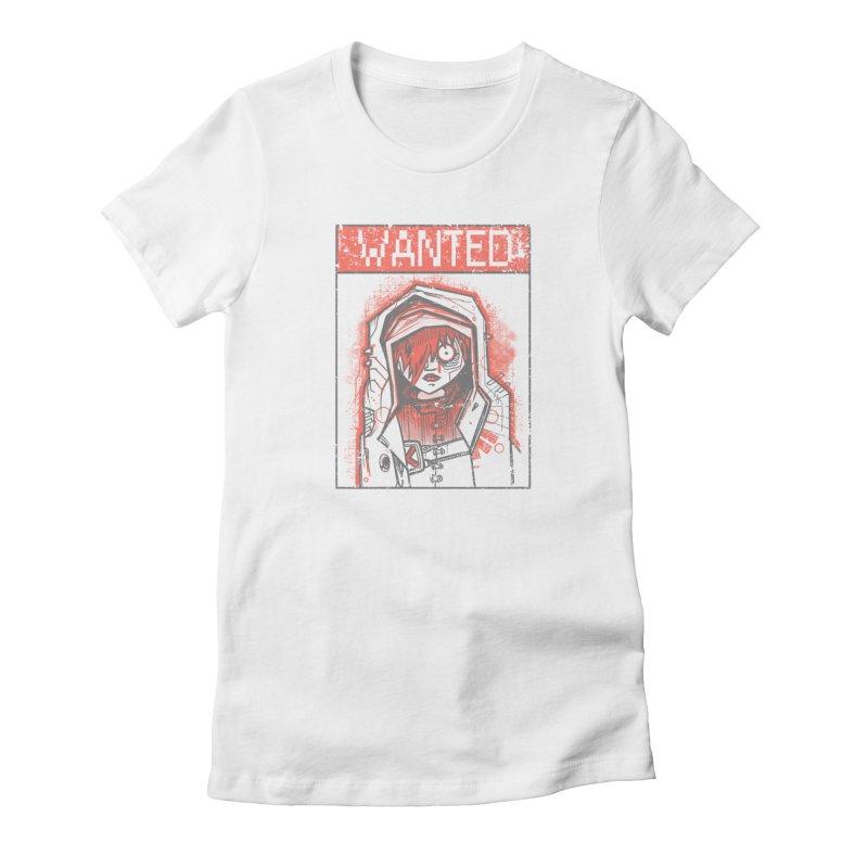bad girl Women's T-Shirt by manuvila
