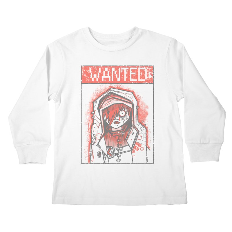 bad girl Kids Longsleeve T-Shirt by manuvila