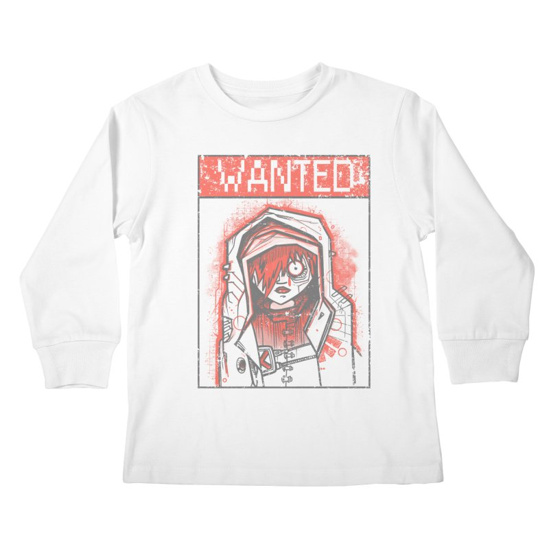 bad girl Kids Longsleeve T-Shirt by manuvila