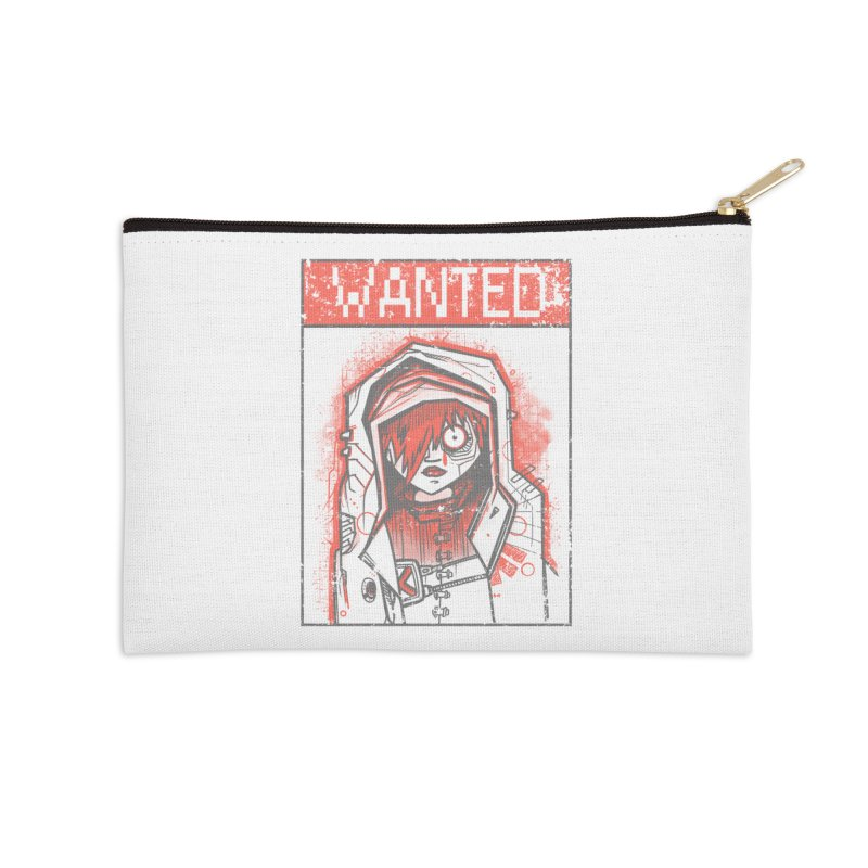 bad girl Accessories Zip Pouch by manuvila