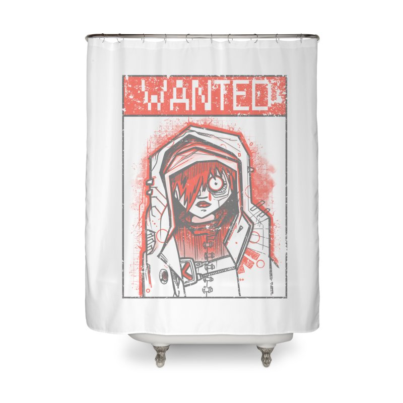 bad girl Home Shower Curtain by manuvila
