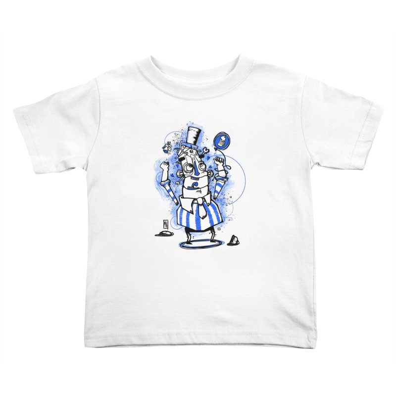 Beeer Kids Toddler T-Shirt by manuvila