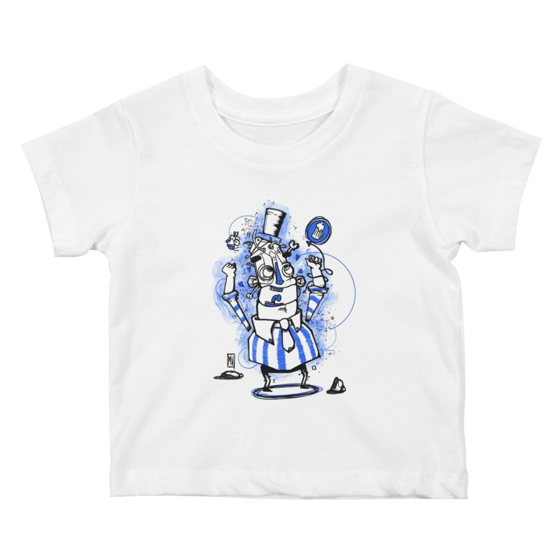 Beeer Kids Baby T-Shirt by manuvila