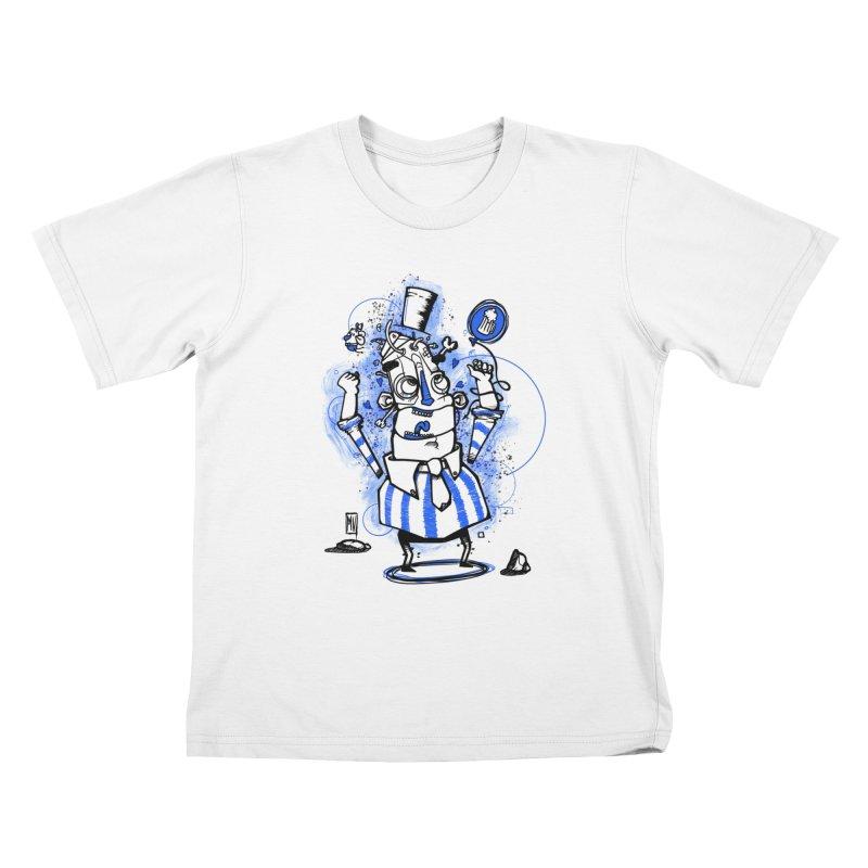 Beeer Kids T-Shirt by manuvila