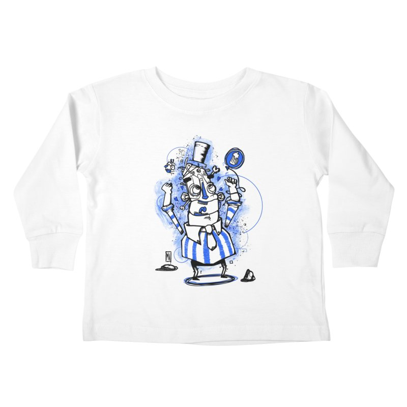 Beeer Kids Toddler Longsleeve T-Shirt by manuvila