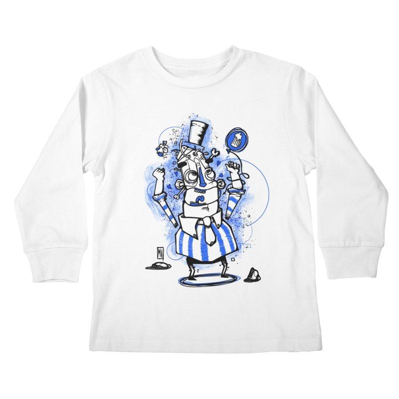 Beeer Kids Longsleeve T-Shirt by manuvila