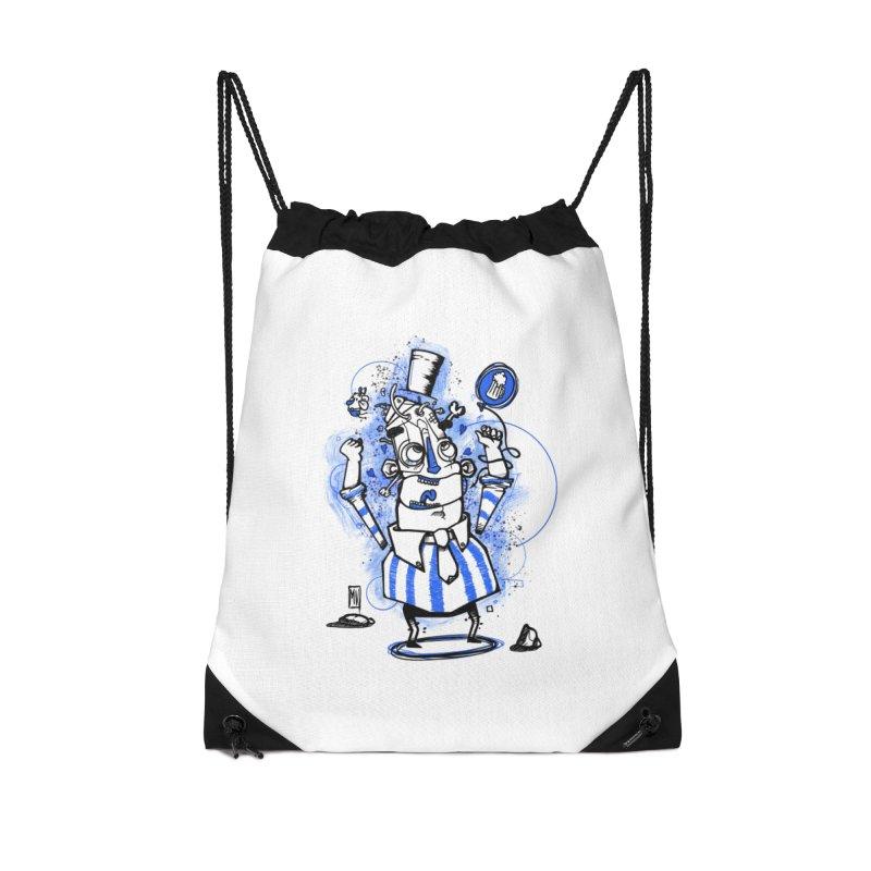 Beeer Accessories Drawstring Bag Bag by manuvila