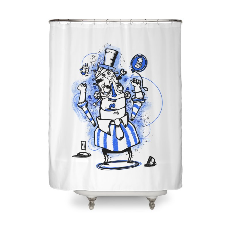 Beeer Home Shower Curtain by manuvila