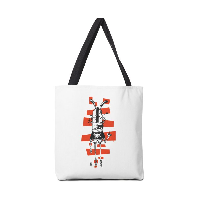 Graffiti rabbit Accessories Tote Bag Bag by manuvila
