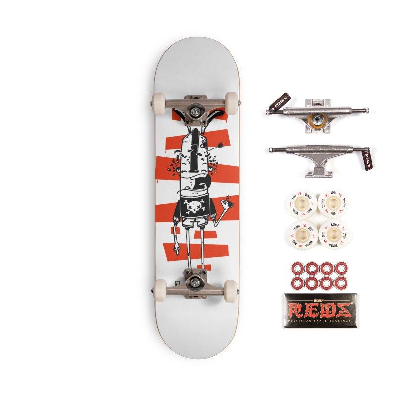 Graffiti rabbit Accessories Complete - Pro Skateboard by manuvila