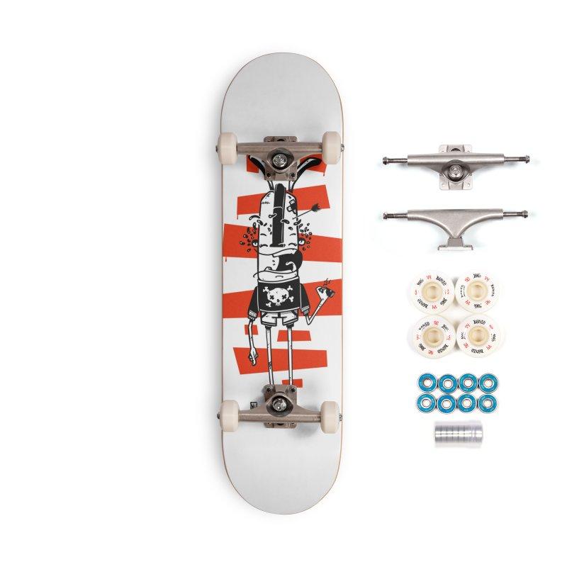 Graffiti rabbit Accessories Complete - Premium Skateboard by manuvila