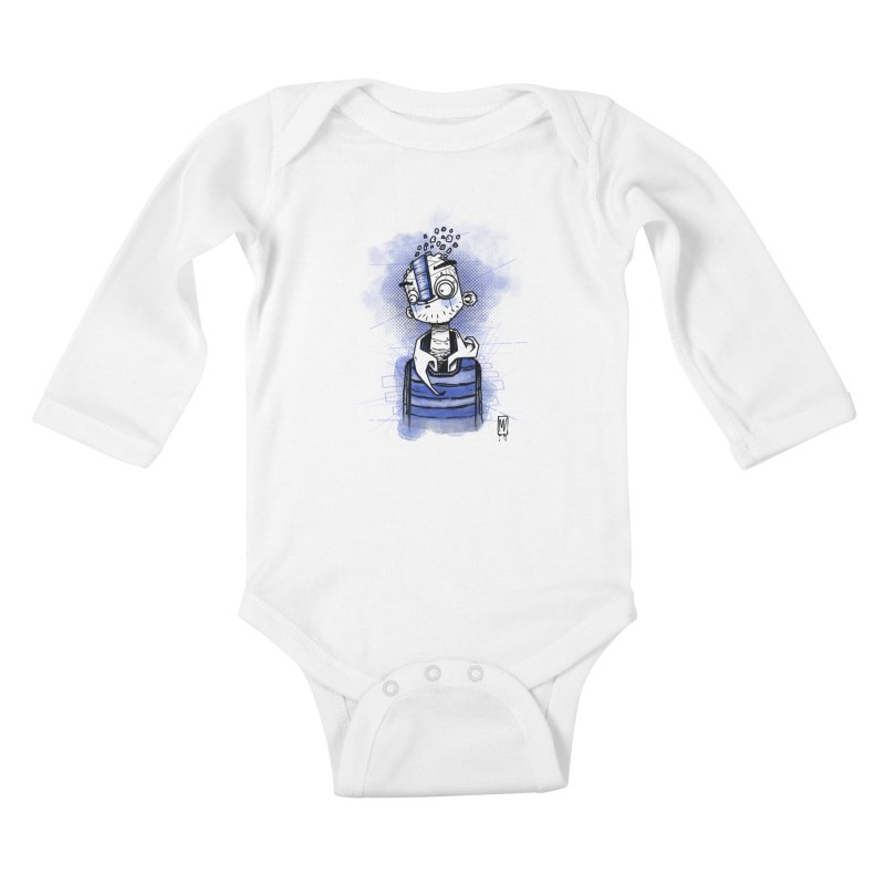 happy men Kids Baby Longsleeve Bodysuit by manuvila