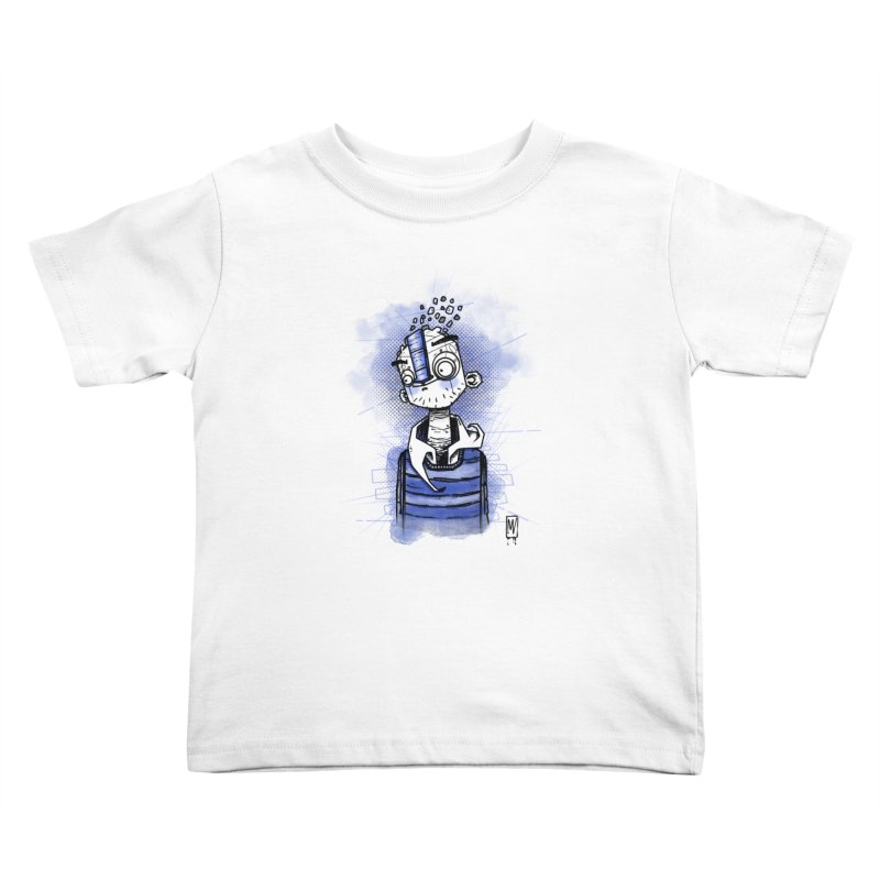 happy men Kids Toddler T-Shirt by manuvila