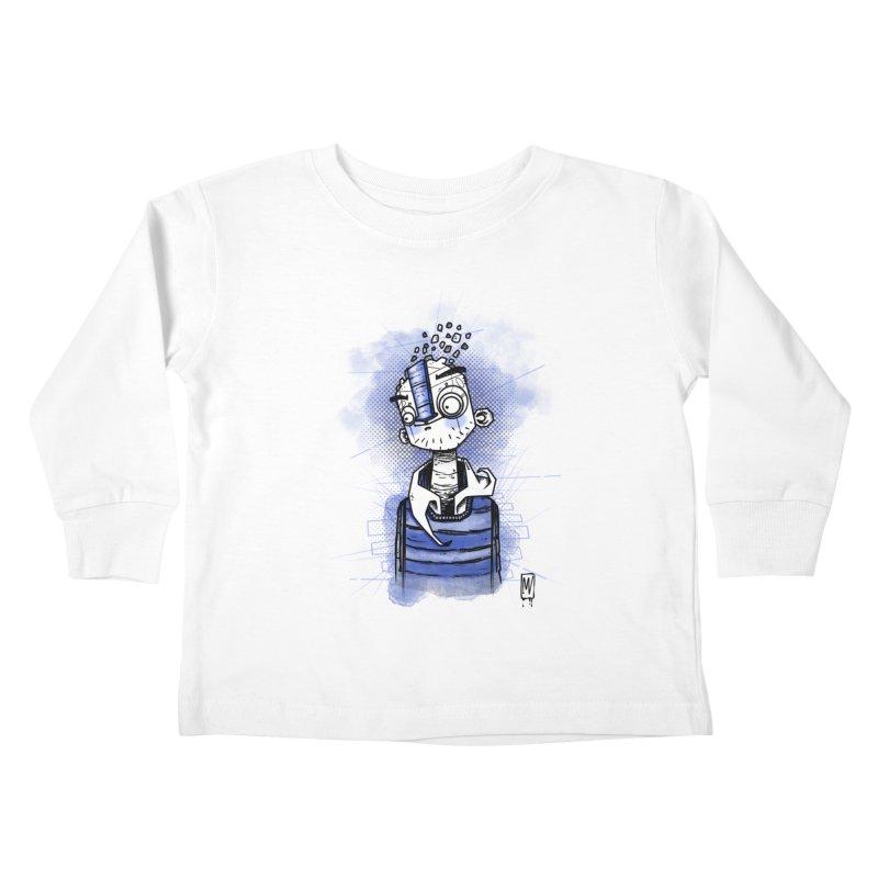 happy men Kids Toddler Longsleeve T-Shirt by manuvila