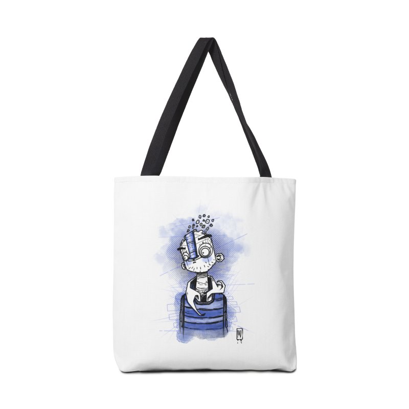 happy men Accessories Tote Bag Bag by manuvila