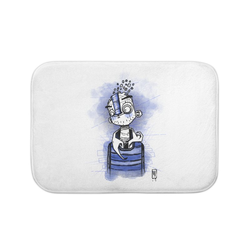 happy men Home Bath Mat by manuvila