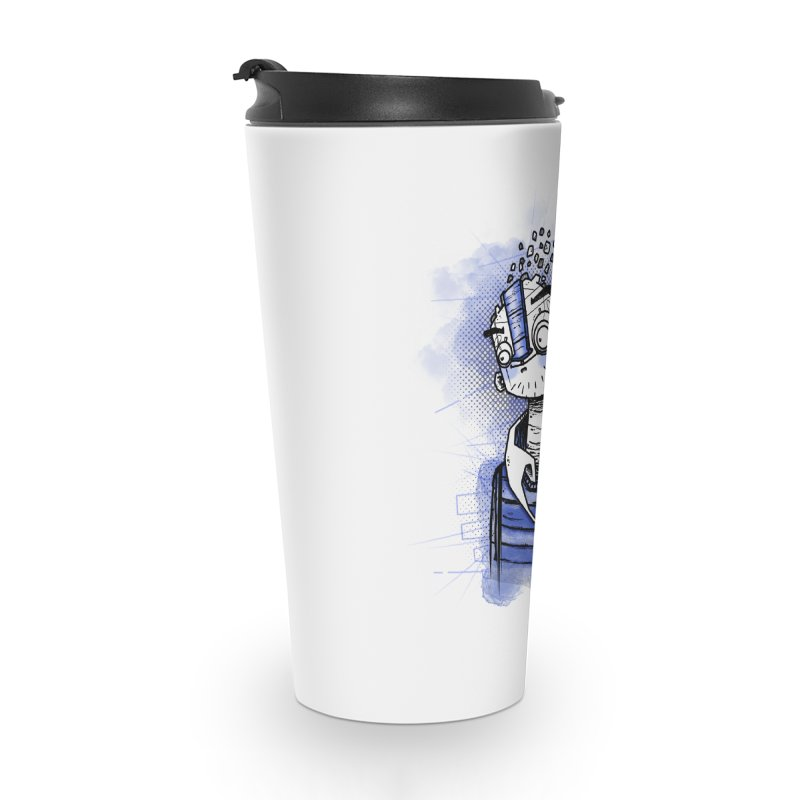 happy men Accessories Travel Mug by manuvila