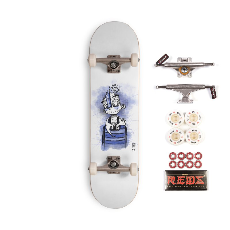 happy men Accessories Complete - Pro Skateboard by manuvila